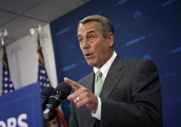 """John Boehner sharply criticized Donald Trump's presidency this week and said he doesn't think the Affordable Care Act will be repealed and replaced. """"Republicans never ever agree on health care,"""" he said."""