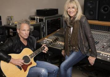 Lindsey Buckingham & Christine McVie's new self-titled album is out June 9.