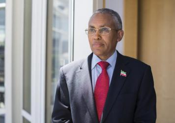 """""""The only thing that's missing is the sovereign recognition,"""" says Saad Ali Shire, foreign minister of Somaliland."""