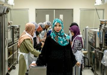 """""""In college, I would tell my friends that I wanted to pursue a Ph.D., and they would chuckle and ridicule the idea,"""" says Eqbal Dauqan, who is an assistant professor at the University Kebangsaan Malaysia at age 36. Born and raised in Yemen, Dauqan credits her """"naughty"""" spirit for her success in a male-dominated culture."""