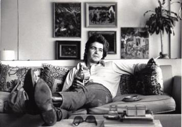 An image from <em>Beyond Words</em>, the new book of photos and song lyrics compiled by John Prine.