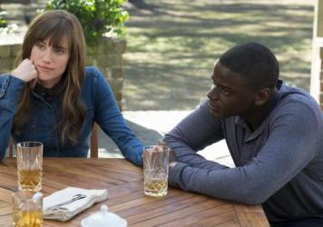 "Allison Williams and Daniel Kaluuya star in Jordan Peele's <em>Get Out</em>.<strong><a href=""http://www.npr.org/2017/02/23/516869364/get-out-offers-sharp-satire-along-with-the-scares"" target=""_blank""> Click here</a></strong> for a review."