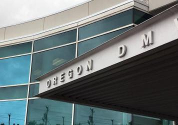 "The headquarters of Oregon's Driver and Motor Vehicles Division on Thursday in Salem, Ore. Oregon became the first state to allow residents to mark their gender as ""not specified"" on applications for driver's licenses."