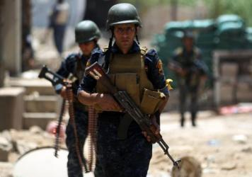Iraqi forces advance towards Mosul's Old City on Sunday, an offensive to retake the last district in the city still held by the Islamic State. Military commanders say the assault began at dawn after overnight airstrikes by the U.S.-led coalition.