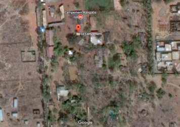 A satellite view of Le Campement resort in Dougourakoro, just east of Mali's capital, Bamako.