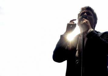 James Murphy of LCD Soundsystem performs onstage in 2016 in Los Angeles.