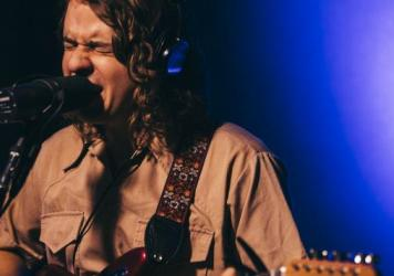 "Kevin Morby performing ""Crybaby"" live in the studio at KCRW."