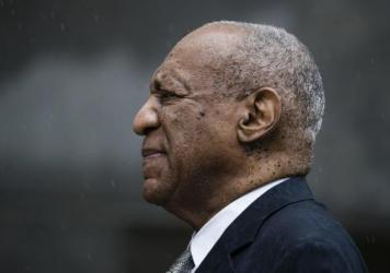 Bill Cosby exits the Montgomery County Courthouse after a mistrial was declared in his sexual assault case earlier this month in Norristown, Pa.