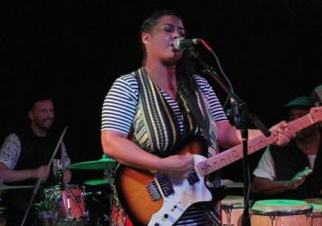 """Kelly Jo Ramirez says her project Phat Lip is about """"opening up all the listeners and exposing them to the Latin influence."""""""