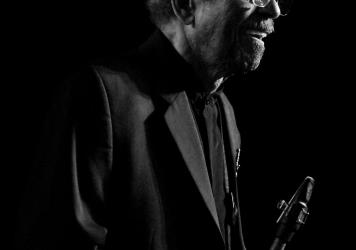 Saxophonist, composer and arranger Jimmy Heath.