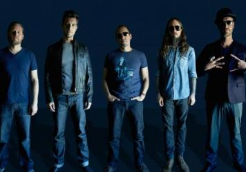 311 (from left: Chad Sexton, Nick Hexum, SA Martinez, Tim Mahoney and P-Nut) released its 12th studio album, <em>Mosaic</em>, earlier this year.