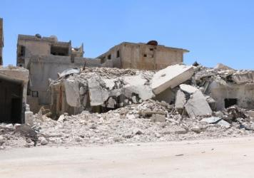 The Syrian city of Daraa, heavily hit by barrel bombs and other strikes by the Assad regime, is one of the areas covered by the current cease-fire. For the past eight days, residents have had a respite from the regime's attacks.
