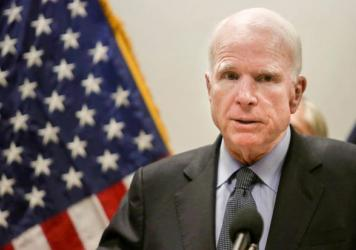 Sen. John McCain, R-Ariz., has been critical of how the GOP health overhaul bill would affect people in his state.