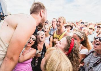 The Oh Hellos got up close and personal with fans at last year's Newport Folk Festival.