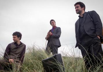 Irish trio Socks in the Frying Pan, whose music is featured in this week's show.