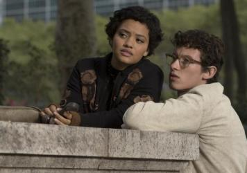 Kiersey Clemons and Callum Turner in <em>The Only Living Boy in New York.</em>