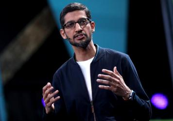 Google CEO Sundar Pichai says that he supports the right of workers to express themselves but that a senior engineer's memo had gone too far.