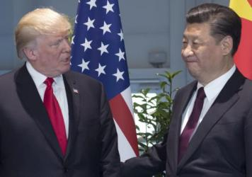 President Trump spoke on the phone with Chinese President Xi Jinping late Friday, but according to the White House, the two didn't discuss Monday's planned executive action that will order a U.S. investigation into Chinese trade practices.