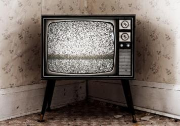 Your television doesn't have to look like this. But there's no guarantee what we're offering you will be <em>better </em>than this.