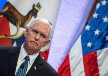 "Vice President Pence, speaking in Chile on Monday, said the ""president has been clear on this tragedy and so have I"" but did not address the president's reversal on the white nationalist protesters."