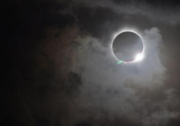 Solar eclipse as seen on Nov. 13, 2012, from the northern tip of Australia.