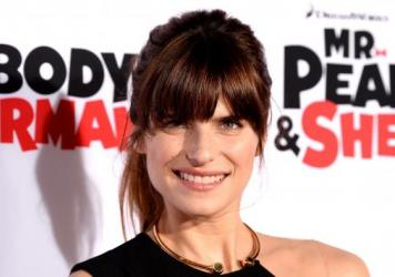 Actress and director Lake Bell at the Premiere <em>Mr. Peabody & Sherman </em>in Westwood, California.