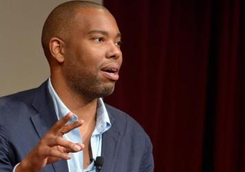 """Author Ta-Nehisi Coates says of Trump voters: """"I think if you say, 'Well yeah, Donald Trump ran a racist campaign, but I voted for him despite that,' that is to say that having somebody who runs that type of campaign is not a disqualifier to you."""""""