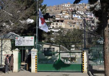 The International Committee of the Red Cross flew its flag at half-mast outside its orthopedic center in Kabul on February 9, after gunmen killed six Afghan employees delivering relief supplies in the snowbound north. Another shooting this week took the life of a physical therapist on the ICRC staff.