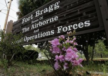 One soldier was killed and seven wounded Thursday during a training incident at Fort Bragg, N.C. It came just one day after a separate incident at Camp Pendleton, Calif., left 14 Marines and one sailor wounded.