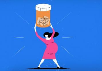 "While benzodiazepines and SSRI antidepressants are not risk-free, says Yale psychiatrist Kimberly Yonkers, ""it should be reassuring that we're not seeing a huge magnitude of an effect here"" on pregnancy."
