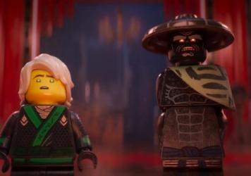 If It's Not Brick, Don't Fix It: Lloyd, voiced by Dave Franco, and his father Garmadon, voiced by Justin Theroux, in <em>The LEGO Ninjago Movie.</em>