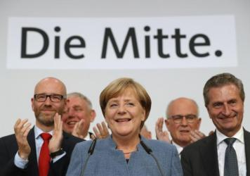 German Chancellor and Christian Democrat Angela Merkel appears to have lost some support because of her refugee policy that allowed more than a million asylum seekers into the country since 2015.