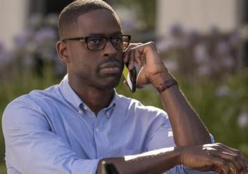 Sterling K. Brown as Randall, still being the best thing about the season premiere of <em>This Is Us</em>.