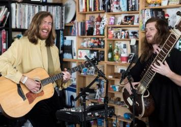 Dawg Yawp performs a Tiny Desk Concert on June 28, 2017. (Photo: Liam James Doyle/NPR)
