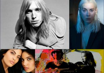 Clockwise from upper left: Tom Petty, Torres, The Breeders, Ibeyi