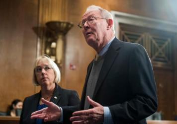 Sens. Patty Murray, D-Wash., and Lamar Alexander, R-Tenn., say they have a tentative agreement to appropriate the subsidies for the next two years, restore money used to encourage people to sign up for Affordable Care Act health plans, and make it easier