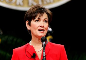 """""""Obamacare gives states very little flexibility for innovation,"""" said Iowa Gov. Kim Reynolds, after withdrawing the state's insurance waiver request."""