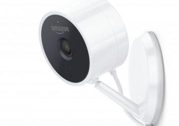 Amazon's new Cloud Cam security camera costs about $140. In some cities, users who buy the camera and a compatible smart lock can give Amazon delivery drivers access to their front doors.
