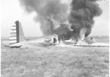 "On October 30, 1935, a Boeing plane known as the ""flying fortress"" crashed during a military demonstration in Ohio — shocking the aviation industry and prompting questions about the future of flight."