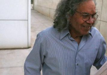 Billionaire founder of Insys Therapeutics John Kapoor leaves U.S. District Court after being arrested earlier Thursday in Phoenix. Kapoor and other defendants in the fraud and racketeering case are accused of offering bribes to doctors to write large num