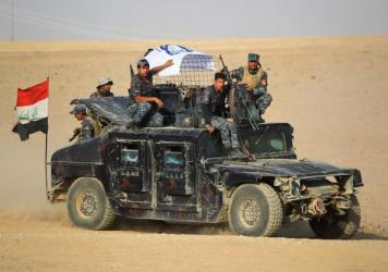 Iraqi security forces advancing Thursday towards the town of Faysh Khabur, which is located on the Turkish and Syrian borders in the Iraqi Kurdish autonomous region.