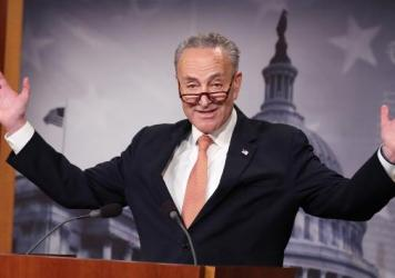 Senate Minority Leader Chuck Schumer of New York is being blamed by President Trump for promoting a visa program that was used by the alleged driver of the truck in the New York terror attack.