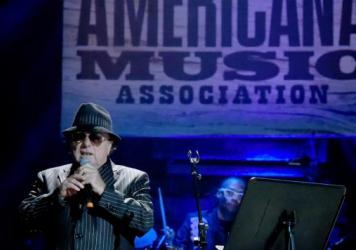 "Van Morrison performs ""Transformation"" at this years Americana Honors & Awards ceremony."
