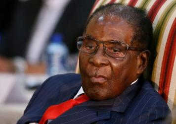 Zimbabwean President Robert Mugabe attends the second session of the South Africa-Zimbabwe Bi-national Commission last month.