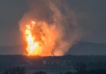 An explosion tore through an Austrian gas pipeline hub at Baumgarten on Tuesday. At least one person was killed, and now onlookers fear the explosion could send shock waves through the European gas supply.