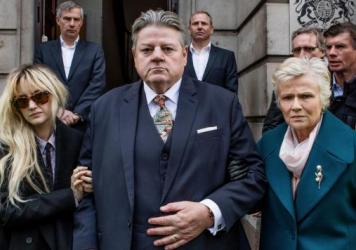 The British TV series <em>National Treasure</em> (available on Hulu) features Robbie Coltrane as a beloved comedian who has been accused of sexual assault, and Julie Walters (right) and Andrea Riseborough as his wife and daughter.