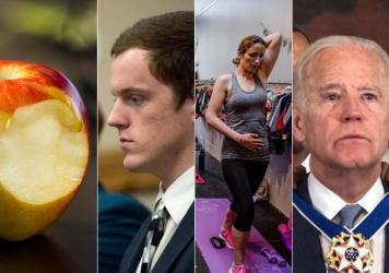 Top Stories from left to right: If Raw Fruits Or Veggies Give You A Tingly Mouth, It's A Real Syndrome; No Jail Time For 19-Year-Old In Idaho Coat-Hanger Assault Case; Flattening The 'Mummy Tummy' With 1 Exercise, 10 Minutes A Day; In A Surprise Send-Off