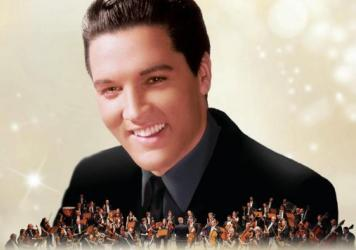 Album Cover, <em>Christmas with Elvis and the Royal Philharmonic Orchestra</em>