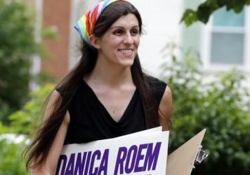 "Danica Roem of Virginia became the <a href=""https://www.npr.org/2017/11/07/562679573/election-of-transgender-lawmaker-in-virginia-makes-history"" data-key=""31"">first out trans person</a> to be elected to a state legislature."