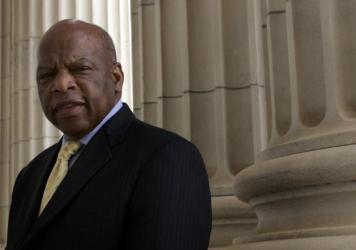 Rep, John Lewis, who spoke at the 1963 March on Washington, said it was moral obligation to stand up for his beliefs.
